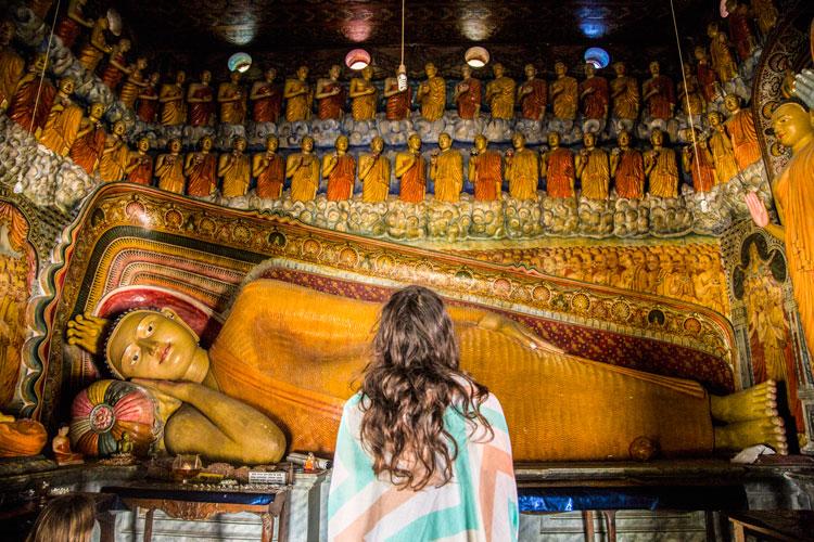Buddhist temple Sri Lanka