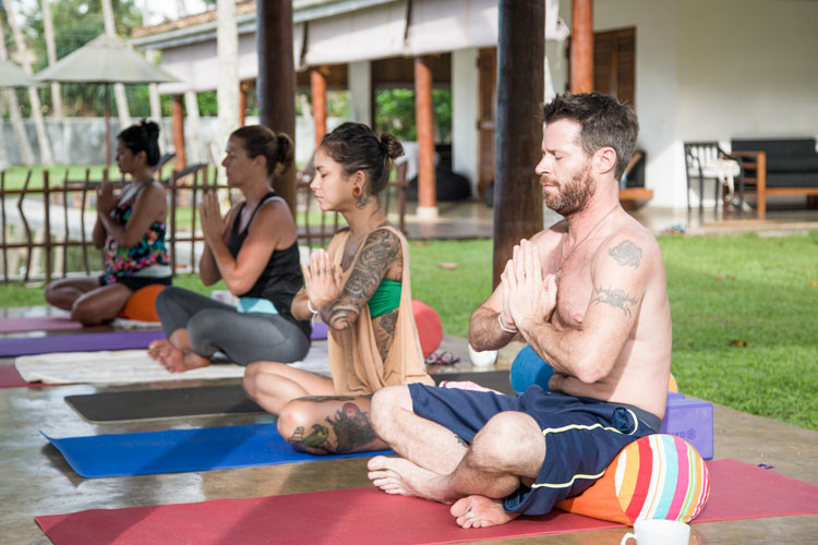 Yoga and meditation retreat Sri lanka