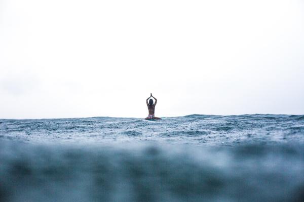 Kori Hahn Sri Lanka Yoga surf photo Nick Green