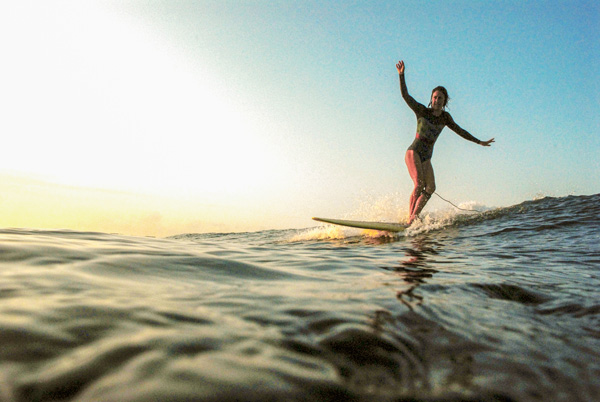 Kori Hahn Yoga surf Retreat About santosha society