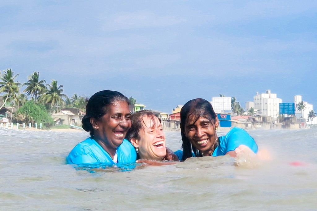 Sri lanka local womens surf club
