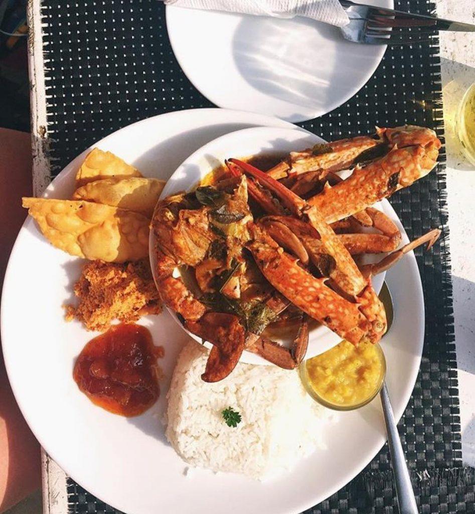Sri Lanka best restaurant food Zephyr Mirissa