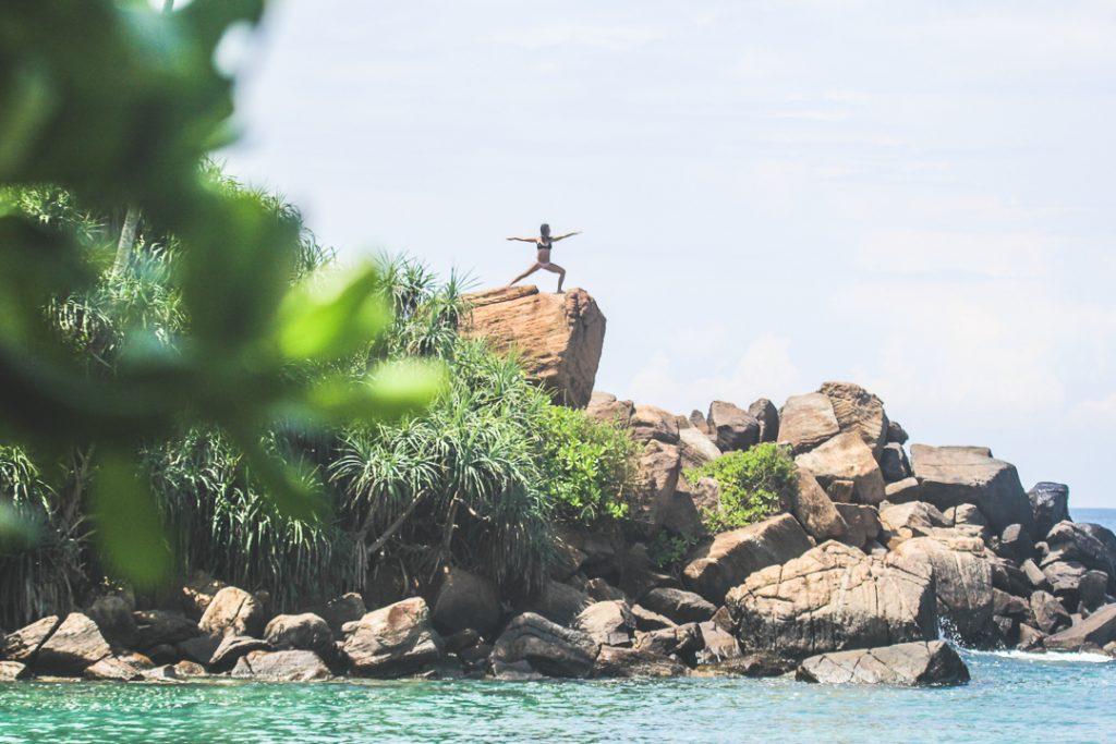 Kori Hahn Yoga in sri lanka