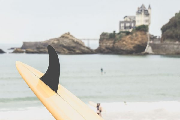 Surf and yoga single fin